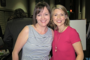 Me and Samantha Brown!
