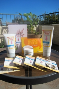 Burt's® Bees goodies!