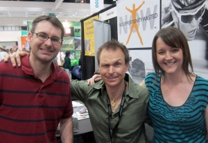 Hanging with Phil Keoghan