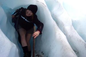 Hiking on Fox Glacier