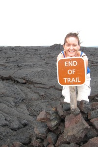 """End of Trail"" - Volcano National Park"