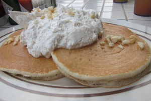 Macadania Nut Pancakes