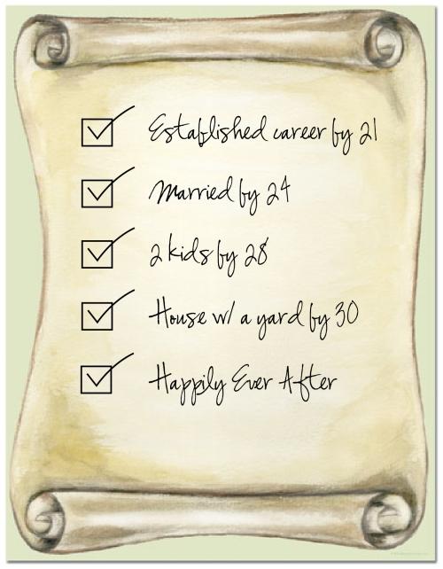 Life checklist