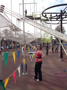 Trapeze Fun!