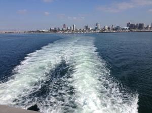 Leaving Long Beach