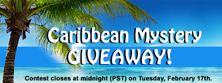 caribbean mystery giveaway